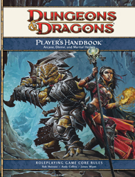 Dungeons & Dragons 4th Edition Player's Handbook