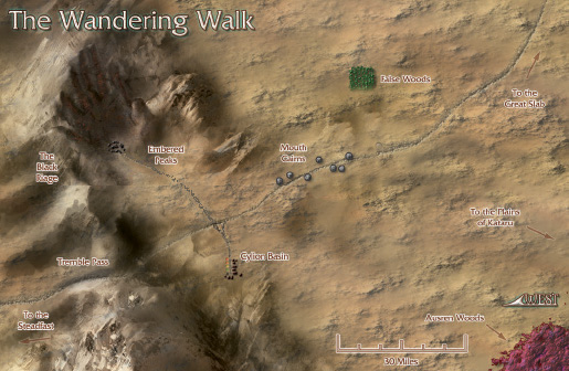 Numenera - The Wandering Walk