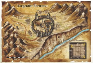Jorgenfist Fortress Map